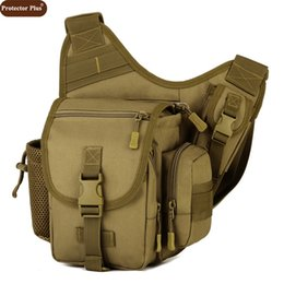 Army cAmerA bAgs online shopping - Army Men Messenger Bag Handbag DSLR Camera Bag Casual Saddle Camouflage Shoulder Bags High Quality Nylon Pack D484