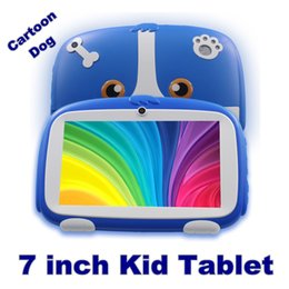 android a33 new 2020 - 2020 7 Inch New Cartoon Dog Kids Learning Tablet Pc Android 4.4 Quad Core Installed Best gifts for Children Tablets Pc 5