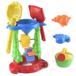 Tools Play Sand Australia - Baby Beach Toy Set Hourglass Digging Sand Play Tool Set Of 6 Parent-child Interactive Toys Children Outdoor Dredging Tools