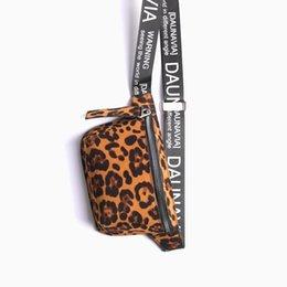 Leopard Bag Pack Australia - good quality Chest Bag New Fashion Leopard Women Designer Fanny Pack Belt Bag Coin Pack Purse Female Mini Waist Messenger Pu Leather