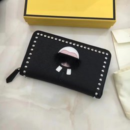 Wholesale magazine quality for sale - Group buy 2020 High Quality Women Monster Cow Little Article Men s Zipper Wallet Lafayette Leather Magazine Wallet Leather Clutch Fashion Fohrn