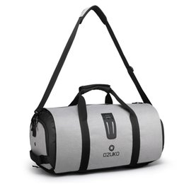 function suits UK - New Fitness Bag Foldable Travel Bag Business Suit Set Storage Sports Multi-function Portable Travel Backpack