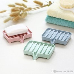 Kitchen Storage Box Set Australia - Bathroom Draining Soap Box Drainage Soap Dish Storage Box Kitchen Tub Sponge Storage Cup Rack Soap Holder Draining Set