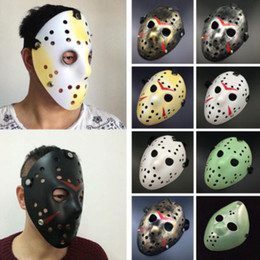 hockey masks Australia - Halloween Mask Friday The 13th Halloween Myers Jason VS Freddy Costume Prop Horror Hockey Mask mascara halloween Cosplay Costume