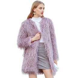 4b34c85f812 ZADORIN 2018 Bohemian Hairy Faux Fur Coat Women Thicken Long Fur Coats Plus  Size Fluffy Winter Jacket Women shaggy cardigan pele