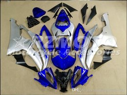 R6 White Blue Australia - 4 Free Gifts New Injection ABS Fairing kits 100% Fit for YAMAHA YZFR6 08 09 10 11 12 13 14 15 YZF R6 2008-2015 YZF600 set Blue White QZ3