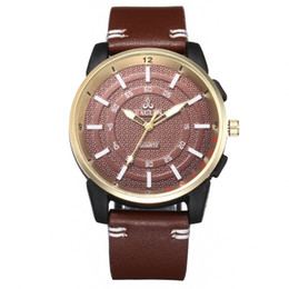 Leather Promotional Gifts Australia - Men Watch Luxury Good Quality Fashion Leather Male Sport Quartz Watch For Boys Business Casual Wriswatch Reloj Mujer Promotional Gifts