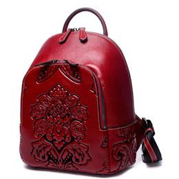 $enCountryForm.capitalKeyWord Australia - Designer- Women Genuine Leather Backpacks Classic Female Shoulder Bag Sac a Dos Travel Ladies Bagpack Mochilas School Bags Girls Schoolbag