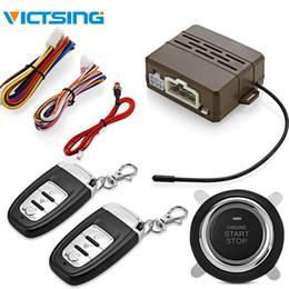 e256f0cd VicTsing Sistema universal antirrobo DC 12V Alarma de vibración Una tecla  de arranque Control remoto Bloqueo central Sistema de entrada sin llave