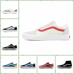 9bd66c64ea VAA1c hot sale cheap Men Women Sports outdoors shoes Old Skool Fear Of God Classic  Canvas Black White YACHT CLUB MARSHMALLOW Skate Casual Of