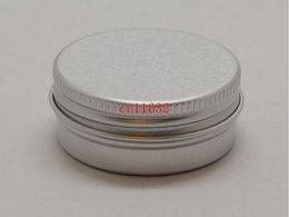 Lipstick Shipping Packaging Australia - Free Shipping 15g Aluminum Lip Gloss Container 15ml Lipstick Box Metal Jar Lip balm Cosmetic Packaging ,1000pcs lot