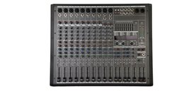24bit Player Australia - 12Channels 2x1800W 4ohm 4 band EQ Double 24Bit DSP Effect Bluetooth Powered Mixer P-12X2