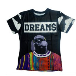biggie shirts NZ - Fashion Rapper Notorious B.I.G. Biggie Smalls Tupac 2pac Women Men New Summer Unisex Funny 3D Print Crewneck Casual T Shirt Tops Q195