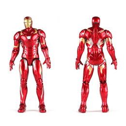 $enCountryForm.capitalKeyWord Australia - The Marvel Avengers Heroes Action Figures 17.5cm 6.89inches Iron Man Captain America Black Widow Spider ManThanos Vision Scarlet Witch