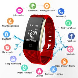 Smart Watch Iphone Android Australia - Luxury Bluetooth Smart Watches For Women Smart Bracelet For Android Ios Iphone Men Heart Tate Monitor Sleep Tracker Smartwrist J190515