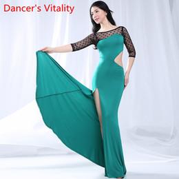 Belly Dancing Suits Australia - Belly Dancing Practice New Suit 2019 Sexy Beginner Dress Oriental Dance Dress Women Belly Dance Costumes M,L,XL