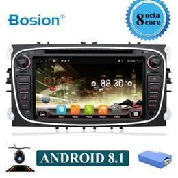 Ford Maps Australia - Octa core 2 Din Android 8.1 Car DVD Player Radio Online Maps GPS Navigation WIFI for Ford focus II Galaxy Transit Tourneo Mondeo