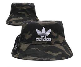 Plain Camp Hat Australia - Military Camouflage Bucket Hat Camo Fisherman Cap Brim Sun Fishing Caps Camping Hunting Hat Chapeau Summer Beach Bucket bob Hats for men