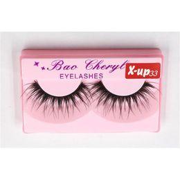 $enCountryForm.capitalKeyWord Australia - Bao Cheryl Supernatural Lifelike Handmade False Eyelash 3D Strip Lashes Thick Fake Faux Eyelashes Makeup Beauty Supplies 3001339