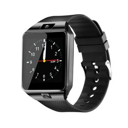 $enCountryForm.capitalKeyWord Australia - DZ09 Wireless Smart watch Wrist Watches Touch Screen For iPhone Xs Samsung S8 Android Phone Sleeping Monitor Smart Watch With Retail Package