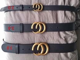 $enCountryForm.capitalKeyWord NZ - 2019 High quality cow skin belt double buckle real leather luxury male designer belt for men women best gift