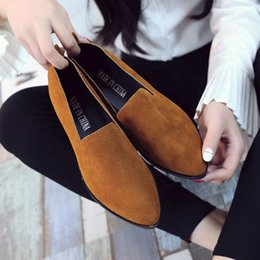 Ladies Soft Canvas Shoes Australia - A12 hot selling womens fashion shoes new style ladies flat shoes high quality canvas leather soft soles shoes with box size35-41