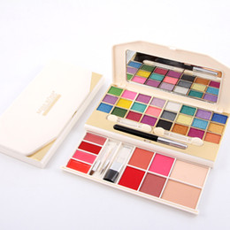 makeup palette blush Australia - MISS ROSE 24 Colors Eyeshadow Palette + 4 Colors Blush +4 Colors Lipstick+2 Concealer Powder Makeup Set for Beauty