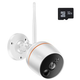$enCountryForm.capitalKeyWord Australia - Wireless Security Camera Surveillance System with Motion Detection and Audio for Home Outdoor Indoor Smart 24GHz WiFi 2MP Bullet IP Camera