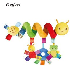Baby Rattles Australia - Fulljion Baby Rattles Mobiles Educational Toys For Children Teether Toddlers Bed Bell Baby Playing Kids Stroller Hanging Dolls