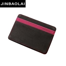 Magic wallets online shopping - Wholetide Jinbaolai Slim Male Magic Wallet Scrub Pu Leather Purse High Quality Carteira Magica Masculina Porte Monnaie Small Wallets Nice