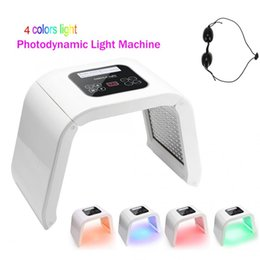 light beauty NZ - 4 Color PDT LED Light Therapy Machine LED Facial Mask Beauty SPA Photo therapy For Skin Rejuvenation Acne Remover Treatment