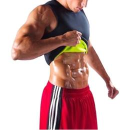 $enCountryForm.capitalKeyWord UK - New Men's Sauna Vest Sweat Shapers Shirt Black Running Shirt Male Shaper Tee Slimming Waist Trainer Corsets Shapewear