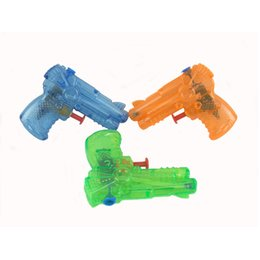 $enCountryForm.capitalKeyWord UK - 2019 Factory Direct Selling 10CM Children's Toys Mini Small Water Gun Solid Color Transparent Custom