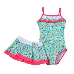 $enCountryForm.capitalKeyWord UK - Girl Beach Swimwear Summer 2018 Kids Baby Swimsuit Swimming Clothes Soft Triangular Sleeveless Bathing Suit For 1-15t Child Y19051801