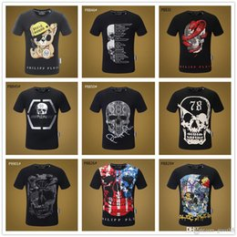 Wholesale personalize t shirts online – design 2019 Mix models Men Brand TShirts Pirate Skull Personalized Custom T shirt Men s Funny Raglan Sleeve Cotton T Shirt Tee Shirts Unise