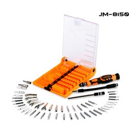 precision electronics screwdriver set Australia - 54 in 1 Electronic Model Tool Kit Adjustable Magnetic Screwdriver Set For PC Camera UAV Telephone Precision Hand Tools Set JM
