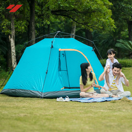 $enCountryForm.capitalKeyWord NZ - Yolafe Outdoor Products 3-4 People Windproof Waterproof Automatic Speed Open Tent Beach Ice Fishing Camping Tent