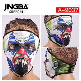 $enCountryForm.capitalKeyWord Australia - JINGBA SUPPORT Halloween Skull Cool Mask Outdoor sport ski mask Riding bike Windproof Full Face Facemask Dropshipping whole