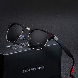 $enCountryForm.capitalKeyWord Australia - Classic Polarized Sunglasses Men Women Retro Brand Designer High Quality Sun Glasses Female Male Fashion Mirror Sunglass De Sol