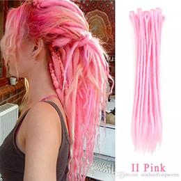 $enCountryForm.capitalKeyWord Australia - 27 Colors Synthetic Dreadlocks Hair Crochet Braids Marley Braid Locks Hair Kanekalon Crochet Braiding Hair Hard 20inch Jamaica Dreadlocks