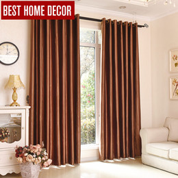 curtain blinds Australia - Best home decor finished draps window blackout curtains for living room the bedroom modern blackout curtains for window blinds