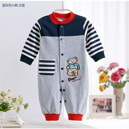 $enCountryForm.capitalKeyWord Australia - Autumn Wear Long Sleeve Cotton Clothing Jumpsuits Baby Boy Girl Climb Clothes Hot Print Figure Kids Romper One-Piece Newborn