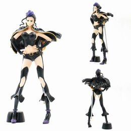 one piece figure nico robin Australia - Nico Robin model figure anime One Piece PVC action 25cm toys collectible doll figrues toy christmas gift