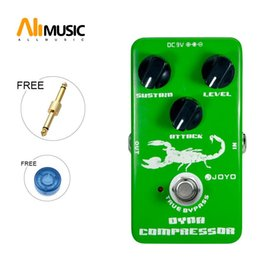 metal effect pedal Australia - JOYO JF-10 Dynamic Compressor Guitar AMP Effect Pedal True Bypass Green metal pedal