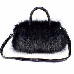 Cheap Fashion Luxury Handbags Women Bag Designer Faux Rabbit Fur Brand  Female Mini Messenger Winter Ladies Crossbody Tote Bags Hangbag New 5e7ab4adc1b13