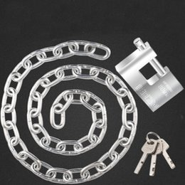 vehicle anti theft 2019 - Bold galvanized chain lock steel motorcycle bicycle lock electric vehicle chain anti-theft cheap vehicle anti theft