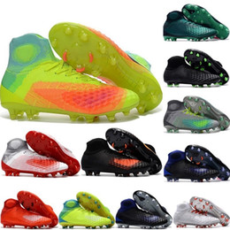 877257d20 New arrival Mens Magista obra II FG AG Soccer Shoes High Ankle Boots  Outdoor Football Shoes sports shoes