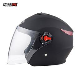 $enCountryForm.capitalKeyWord Australia - Motorcycle vintage Helmet Four Seasons Racing Half Helmets Motorbike capacete de motocicleta cascos para moto for Women Men