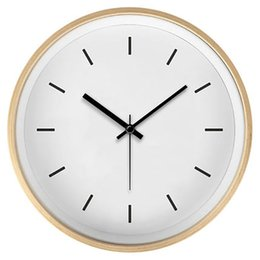 $enCountryForm.capitalKeyWord Australia - Large Living Room Simple Wall Clock Creative Wooden Decorative Wall Clocks Home Decor Zegary Best Selling 2019 Products Brief