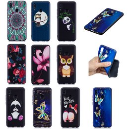 $enCountryForm.capitalKeyWord NZ - Soft TPU Back Phone Case For Huawei P Smart P30 P20 P10 P9 Lite P8 Lite Slim Fit Flower butterfly owl panda Case for Huawei Y7 Y6 Y5 Cover